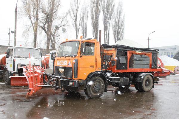 снігоприбиральна техніка Вінниці