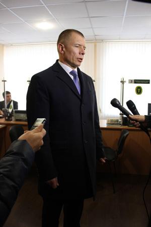 начальник ГУ Міндоходів у Вінницькій області Геннадій Федик