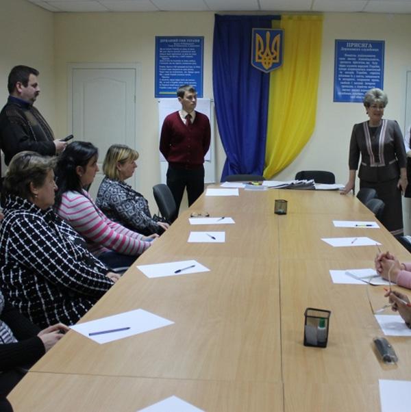 Любов Спірідонова зустрілася з працівниками та відвідувачами Вінницького районного центру зайнятості