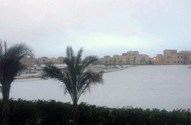 Сніг у Єгипті
