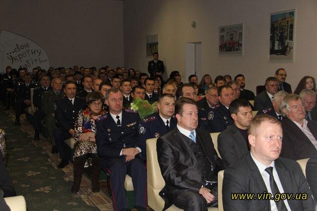 День міліції у Вінниці