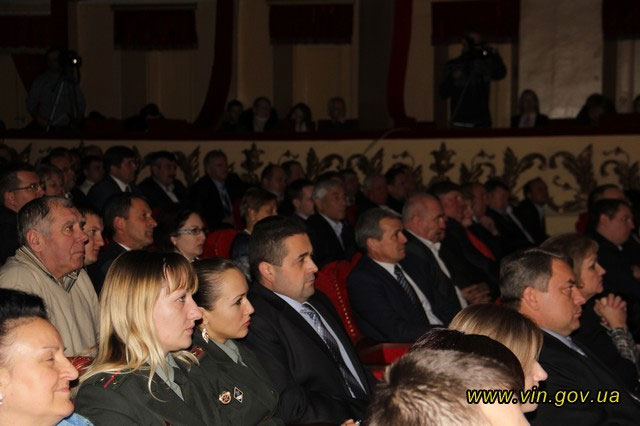 У театрі садовського відзначили найактивніших благодійників області