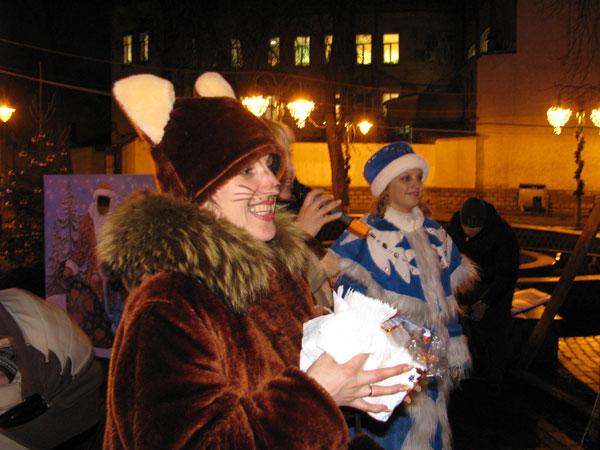 Історична перемога Діда Мороза над Санта Клаусом у Вінниці