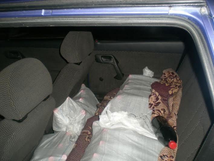 На Вінниччині ДАІшники вилучили 80 пляшок коньяку у мешканця Молдови