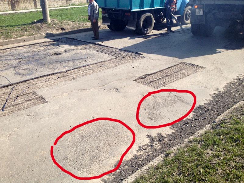 канадський спецасфальт для швидкісного ремонту доріг