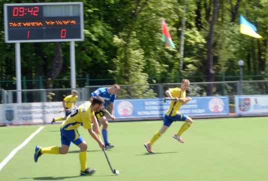 У Вінниці відбулися три товарисько–тестових матчі з хокею на траві