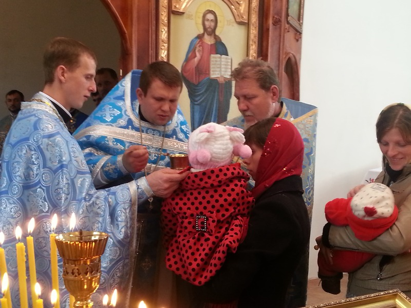 У селі Зозулинці Хмільницького району відкрили згорілу 44 роки тому церкву