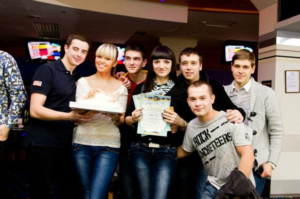 студентський чемпіонат з боулінгу, команда переможець