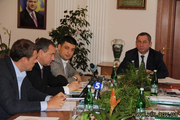 зустріч народних депутатів у Вінниці