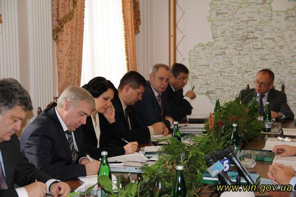 11 народних депутатів-вінничан зібрались разом у Вінниці