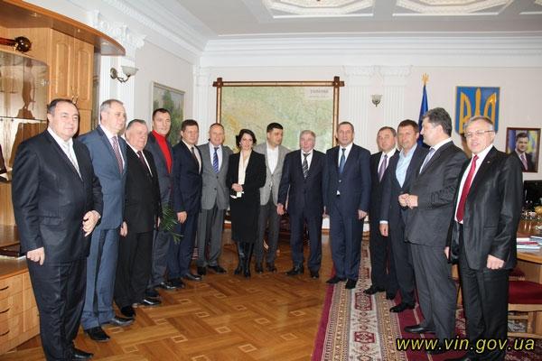 11 народних депутатів-вінничан зібралися у Мовчана: домовились лобіювати у парламенті вигідні для Вінниччини рішення