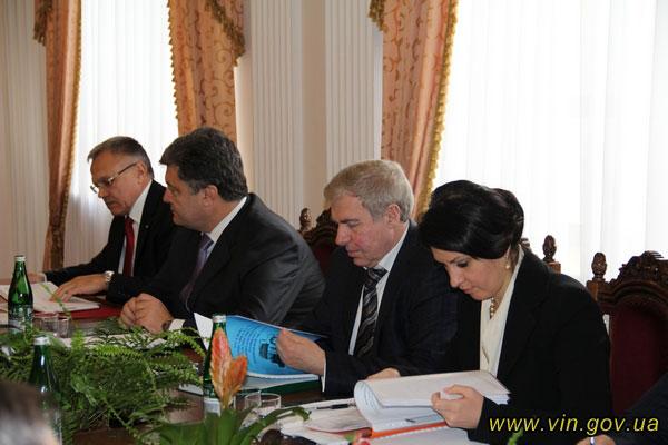 зустріч депутатів у Вінниці