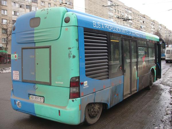 У Вінниці з'явився перший еко-автобус з гібридним двигуном