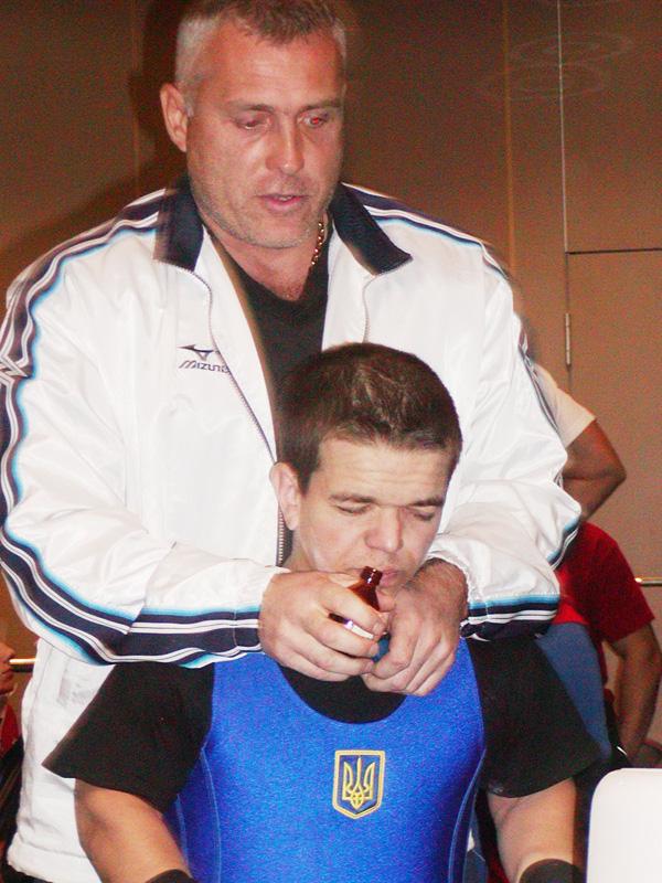 Олег Пакула з Сергієм Хвалінським