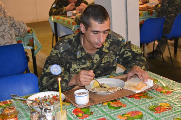 З кутею та колядою відзначили Різдво українські миротворці у Ліберії