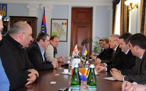 грузинська делегація у Вінниці