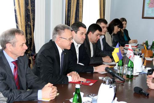 Грузинська делегація шукає на Вінниччині нових партнерів