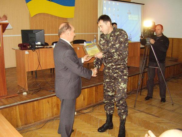 Вдячність військовим комісарам за виконання плану по контрактній службі