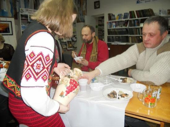 Старий Новий рік у бібліотеці міжкультурного діалогу