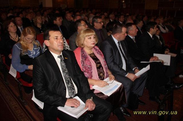 Звіт керівників Липовецького та Погребищенського районів