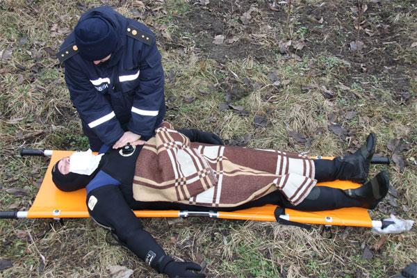 У Вінниці рятувальники провели навчання з порятунку на воді