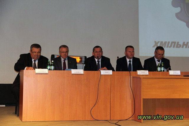 Звіт голови Хмільницького району про підсумки соціально-економічного розвитку у 2013 році