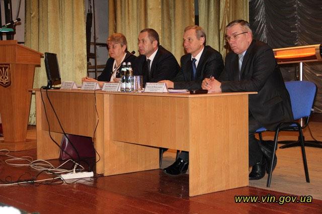 Звіт керівника Крижопільської райдержадміністрації Лідії Семенюк за результатами діяльності у 2013 році