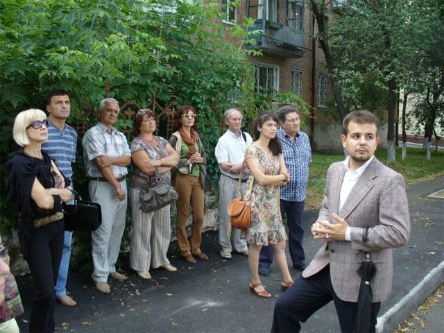 Історик-екскурсовод Олександр Федоришен