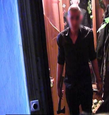 Під час обшуку в квартирі вінничанина, який штурмував Вінницьку ОДА, вилучили автомат, рушницю...