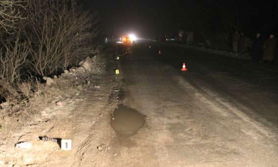 На Вінниччині водій позашляховика Honda CRV насмерть збив 16-річного школяра