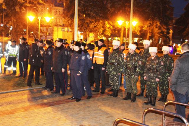 Володимир Гройсман: «У Вінниці багато патріотів, щоб пліч-о-пліч забезпечити охорону громадського порядку»