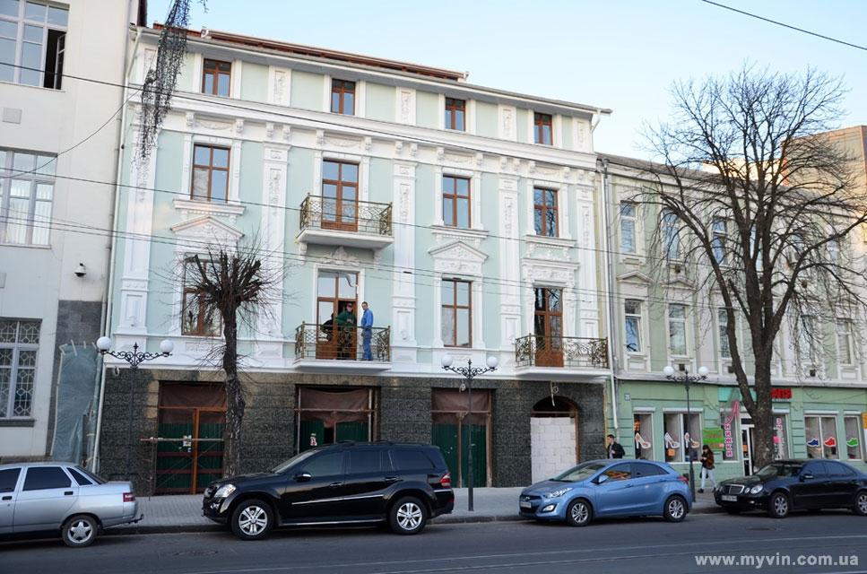 """готель Франція у Вінниці, колишній """"Вогник"""""""