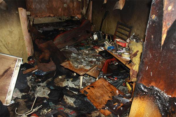В Івано-Франківську необережний чоловік спричинив пожежу у власній квартирі