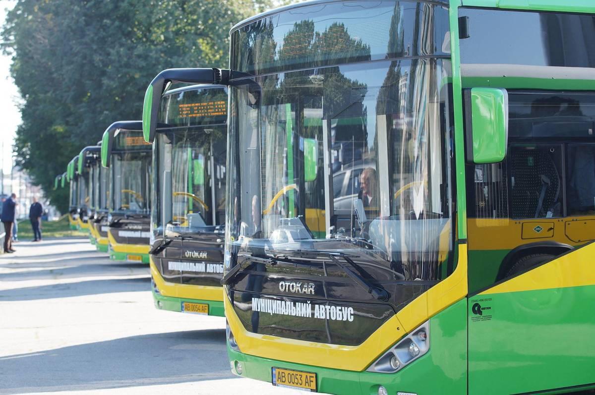 У Вінниці стало на десять муніципальних автобусів більше