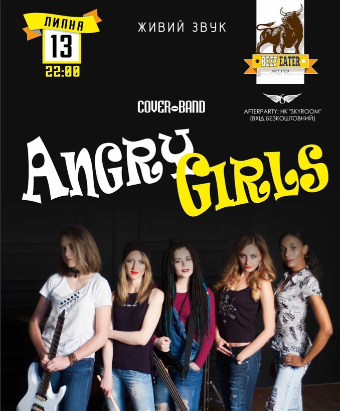 Cover-band ANGRY GIRLS