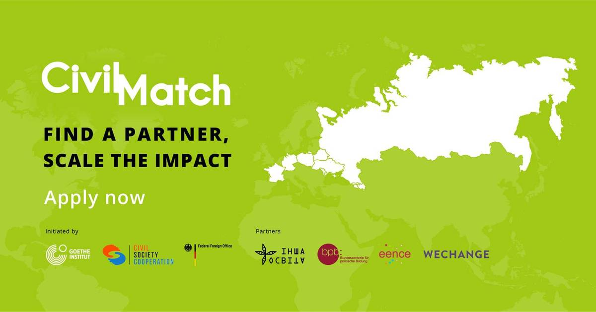 Civil Match for changemakers. Meet new Partners