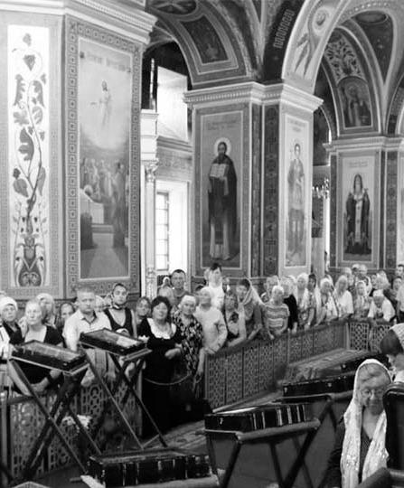Ікони з мощами святих цілителів у Вінниці