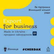 MeetUp#6: Export for business